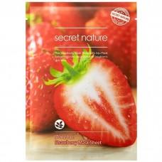 Листовая маска Secret Nature Sheet Mask - клубника