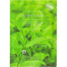 Листовая маска Secret Nature Sheet Mask - зеленый чай
