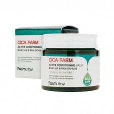 Крем-бальзам с центеллой азиатской FARMSTAY Cica Farm Active Conditioning Balm
