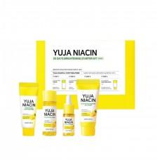 Набор миниатюр с юдзу для выравнивания тона Some By Mi Yuja Niacin 30 Days Brightening Starter Kit