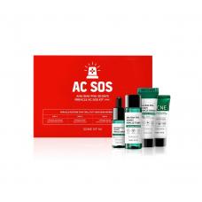 Набор миниатюр с кислотами для проблемной кожи Some By Mi AC SOS AHA-BHA-PHA 30 Days Miracle AC SOS Kitbc
