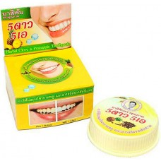 Тайская отбеливающая зубная паста Ананас