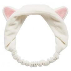 Повязка для волос Кошачьи ушки AYOUME Hair Band Cat Ears - белая