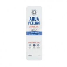 Очищающие палочки для лица с АНА-кислотами A`PIEU Aqua Peeling Cotton Swab - 02. Intensive Type - интенсивный пилинг с экстрактом алоэ.