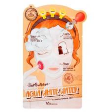 Elizavecca 3-Step Aqua White Water Mask Pack – 3-шаговая маска увлажняющая