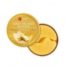 Гидрогелевые патчи с коллоидным золотом SNP Gold Collagen Eye Patch