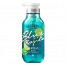 Глубоко очищающий шампунь на основе мохито Fresh Pop Green Herb Recipe Shampoo 500 мл