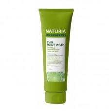 EVAS Naturia Pure Body Wash Wild Mint & Lime – гель для душа с освежающим ароматом мяты, эвкалипта и лайма 100 мл
