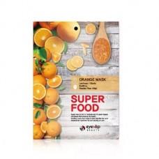Тканевая маска для лица витаминная EYENLIP Super Food Orange mask