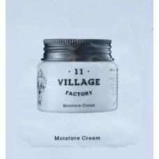 Увлажняющий крем для лица с экстрактом корня когтя дьявола. Пробник VILLAGE 11 FACTORY Moisture Cream Sample