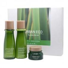 Мини-набор уходовый с экстрактом новозеландского льна THE SAEM Urban Eco Harakeke Skin Care Mini 3 Set