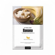 ТКАНЕВАЯ МАСКА С ЭКСТРАКТОМ БАНАНА MY REAL SKIN BANANA FACIAL MASK