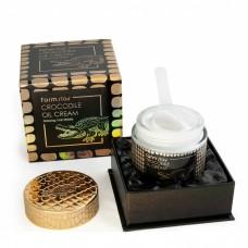 Крем с крокодильим жиром FARMSTAY Crocodile Oil Cream 70 мл