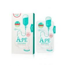 Успокаивающая маска для лица с аминокислотами Mediheal A:PE Soothing Proatin Mask 25 мл