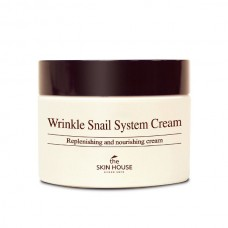 Улиточный крем для лица THE SKIN HOUSE Wrinkle Snail System Cream 50 ml