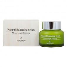 Балансирующий крем для обезвоженной жирной кожи THE SKIN HOUSE Natural Balancing Cream