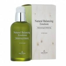 Балансирующая эмульсия для обезвоженной жирной кожи THE SKIN HOUSE Natural Balancing Emulsion