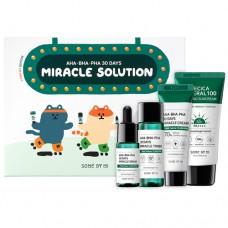 Набор миниатюрок AHA.BHA.PHA 30 Days Miracle Solution 4 - Step Kit SOME BY MI