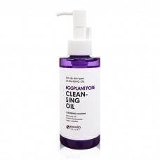 Гидрофильное масло с баклажаном для жирной кожи EYENLIP Eggplant Pore Cleansing Oil