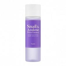 Гипоаллергенная эссенция для чувствительной и сухой кожи TIAM Snail & Azulene Water Essence 180мл