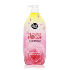 Shower Mate Purple Flower Perfumed Body Wash гель для душа (роза) 900 мл