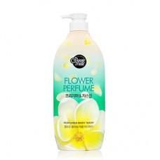 Shower Mate Yellow Flower Perfumed Body Wash Парфюмированный гель для душа (жасмин) 900 мл