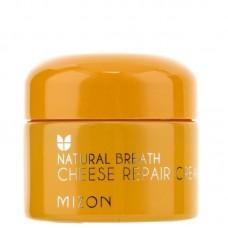 Восстанавливающий питательный крем с ферментами сыра MIZON Cheese Repair Cream