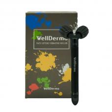 Роликовый вибрирующий массажер Wellderma Face Lifting Vibrating Roller