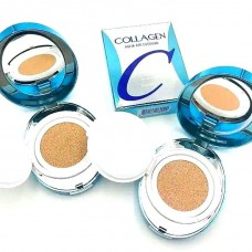 Увлажняющий кушон с коллагеном 21тон Enough Collagen Aqua Air Cushion