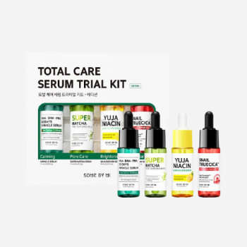 Набор миниатюр сывороток Some by Mi Total Care Serum Trial Kit 14mlx4ea