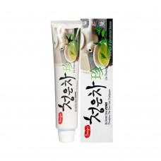 Зубная паста Восточный чай KERASYS Dental Clinic 2080 Cheong-en-cha Jin Tooth Paste