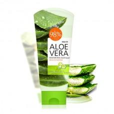 Универсальный гель с алоэ вера WELCOS Aloe Vera Moisture Real Soothing Gel 150ml