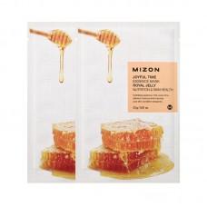 Увлажняющие тканевые маски для лица Mizon Joyful Time Essence Mask - Royal Jelly - Маточное молочко