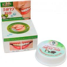 Круглая зубная паста 5 STAR с экстрактом кокоса 25 гр