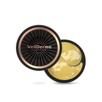 Гидрогелевые патчи с германием и золотом WELLDERMA Ge Gold Eye Mask